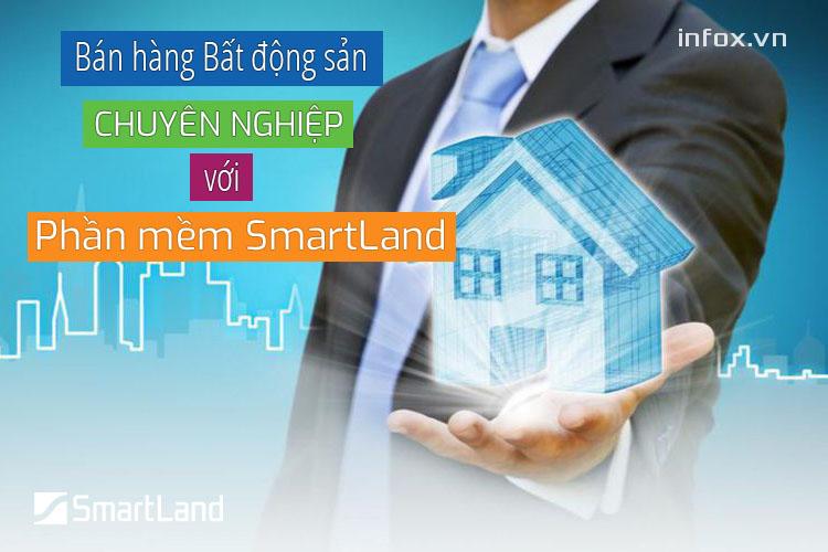 Bán hàng bất động sản chuyên nghiệp với phần mềm SmartLand