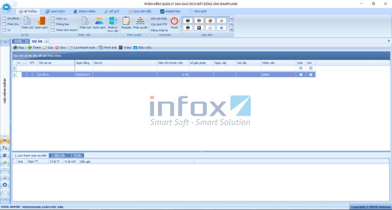Phần mềm quản lý sàn môi giới bất động sản SmartLand Agent