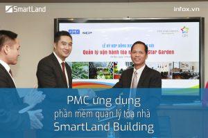 PMC triển khai phần mềm quản lý tòa nhà SmartLand Building vào sử dụng