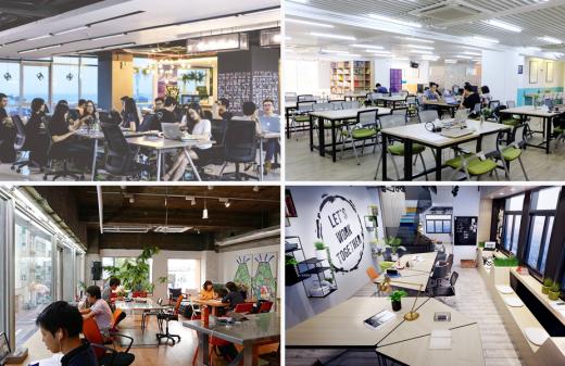 Co-working Space không gian làm việc chung