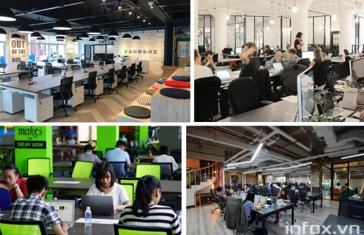 Dịch vụ chia sẻ văn phòng co-working space