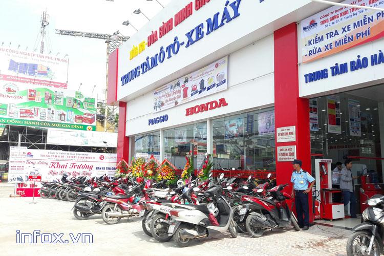 Làm thế nào để kinh doanh chuỗi cửa hàng xe máy hiệu quả và ổn định