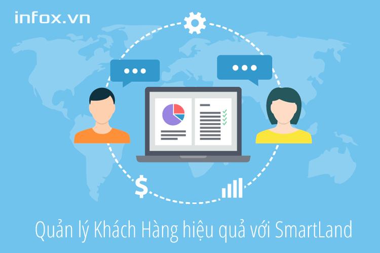 Quản lý khách hàng hiệu quả và chốt giao dịch nhanh chóng với phần mềm quản lý bất động sản SmartLand