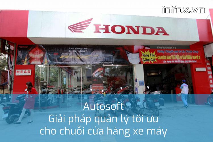 Cửa hàng Head Honda tại Hà Nội