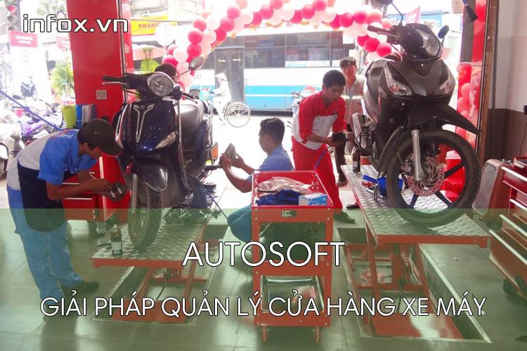 Autosoft - giải pháp cửa hàng xe máy