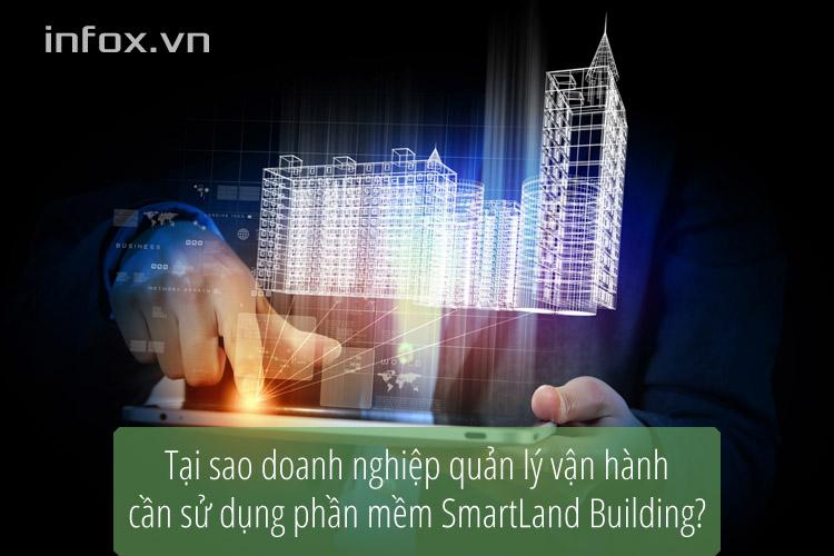Phần mềm hệ thống quản lý tòa nhà SmartLand Building