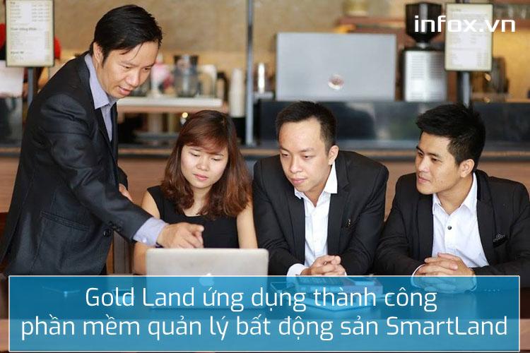 Sàn giao dịch Gold Land ứng dụng thành công phần mềm quản lý bất động sản SmartLand dành cho môi giới lẻ