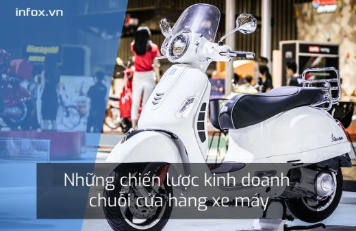 Những chiến lược kinh doanh chuỗi cửa hàng xe máy thuận lợi và có lợi nhuận cao