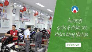Autosoft giúp việc quản lý chăm sóc khách hàng tốt hơn