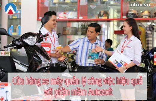 Cửa hàng xe máy quản lý công việc hiệu quả với phần mềm Autosoft