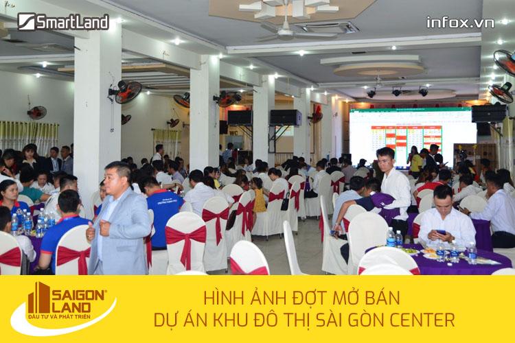 Đợt mở bán khu đô thị Sài Gòn Center của SaigonLand