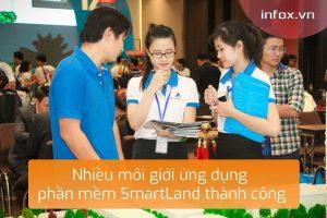 Nhiều môi giới ứng dụng phần mềm SmartLand thành công