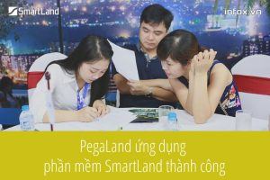 Sàn giao dịch bất động sản PegaLand ứng dụng phần mềm SmartLand Agent thành công