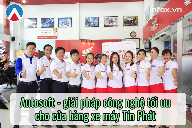 Phần mềm quản lý cửa hàng xe máy Autosoft – Giải pháp công nghệ tối ưu cho Tín Phát
