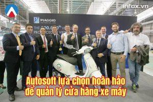 Phần mềm Autosoft lựa chọn hoàn hảo để quản lý cửa hàng xe máy