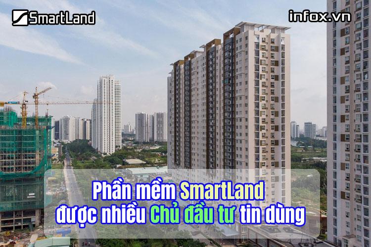 Phần mềm SmartLand được nhiều Chủ đầu tư tin dùng