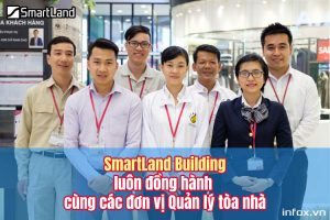 SmartLand Building luôn đồng hành cùng các đơn vị quản lý tòa nhà
