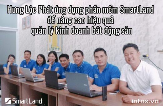 Hưng Lộc Phát ứng dụng phần mềm SmartLand để nâng cao hiệu quả quản lý kinh doanh bất động sản