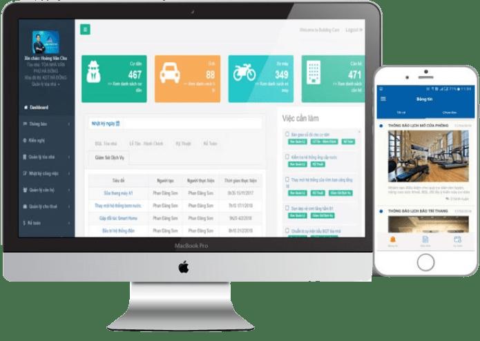 Phần mềm quản lý tòa nhà Building Care
