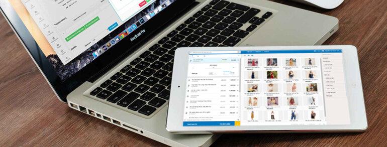Phần mềm quản lý bán hàng SUNO.vn sử dụng linh hoạt trên mọi thiết bị kết nối internet