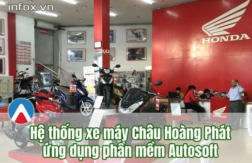 Châu Hoàng Phát hợp tác với Infox Việt Nam triển khai công nghệ quản lý hệ thống cửa hàng xe máy
